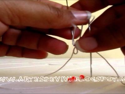 Como fazer uma pulseira de miçanga simples