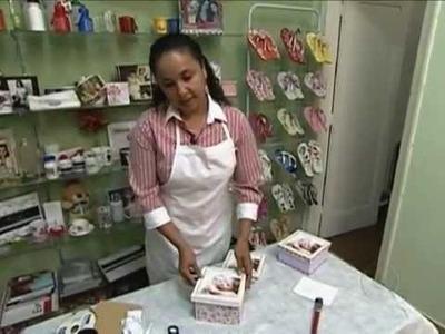 Empresária ensina a fazer presente para o dia das mães.wmv
