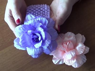 Faça um Linda Flor com pétalas onduladas