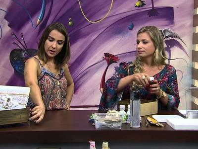 Mulher.com - 18.01.2016 - Caixa MDF - Camila Claro PT1