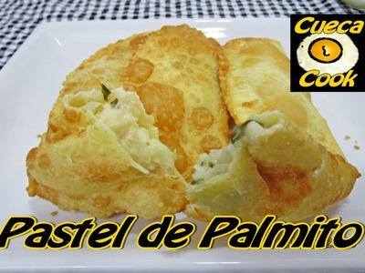 Recheio de palmito igual ao pastel da feira - 5 ingredientes -  Cueca Cook # 011