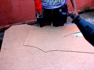 Tutorial: Como trabalhar com MDF (Cortar, lixar) usando serra tico tico
