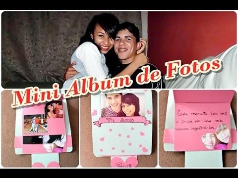 DIY - Album de fotos para o Dia dos Namorados