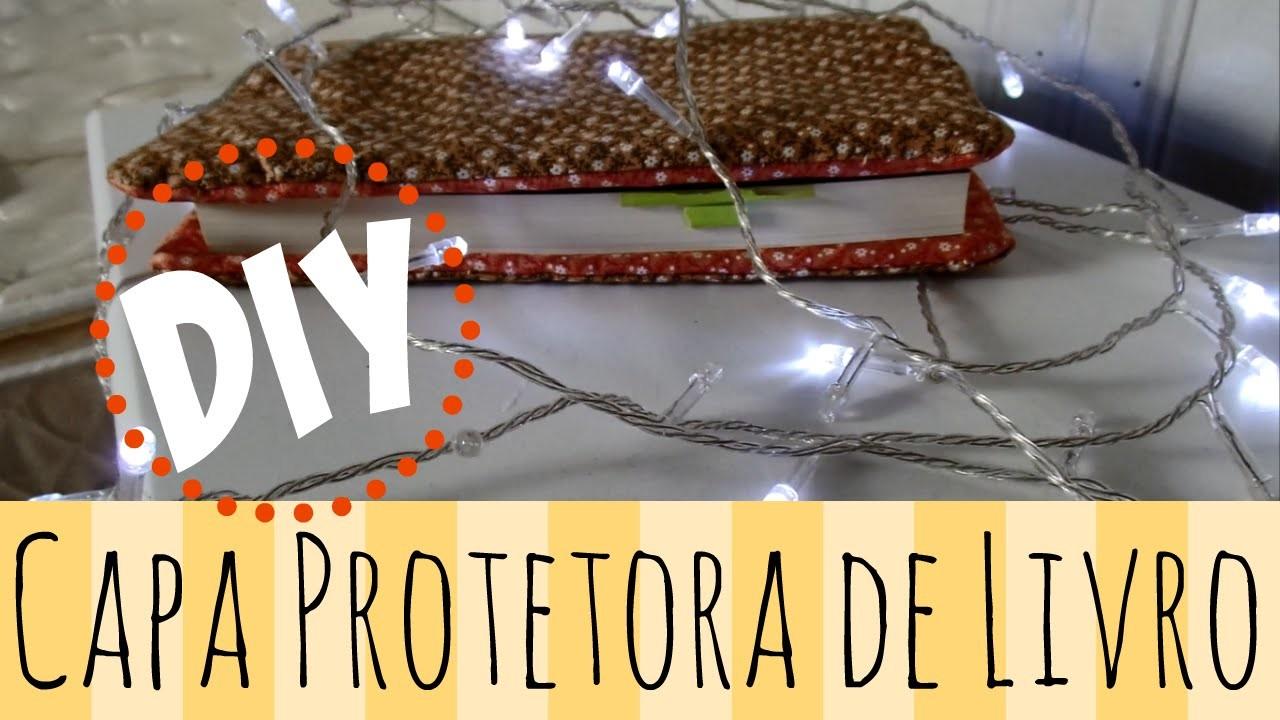 DIY: CAPA PROTETORA DE LIVRO