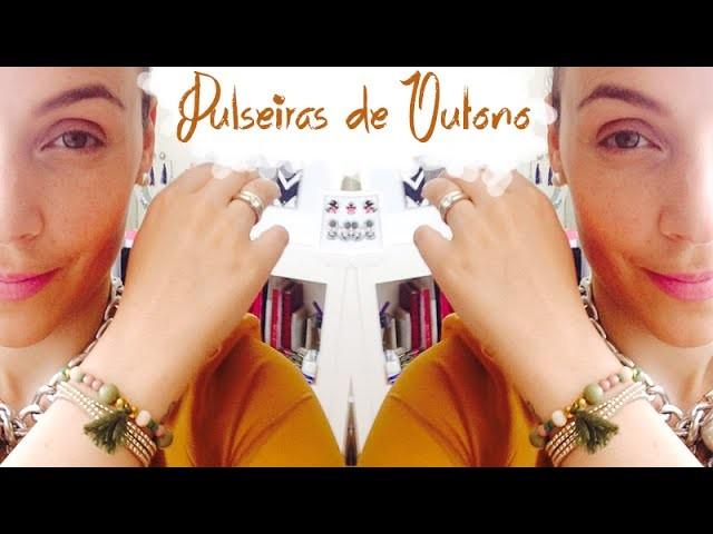 DIY: Como fazer pulseiras de Outono | Rita Minipi
