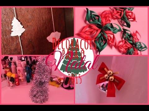 DIY: Enfeites de Natal para Decorar o seu Quarto e sua Casa
