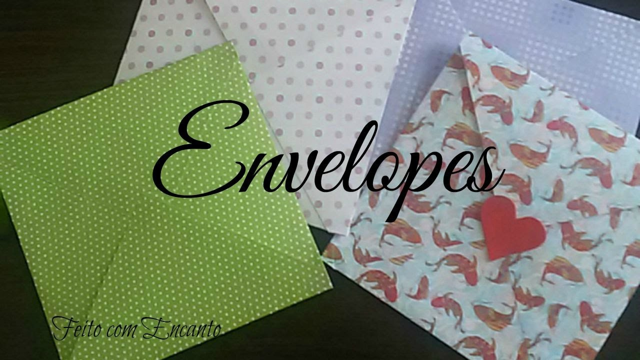 DIY. Envelopes