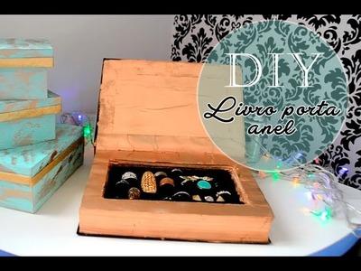 DIY - Livro porta anel