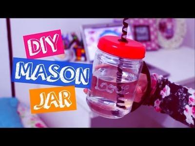 DIY: Mason Jar (Muito fácil)