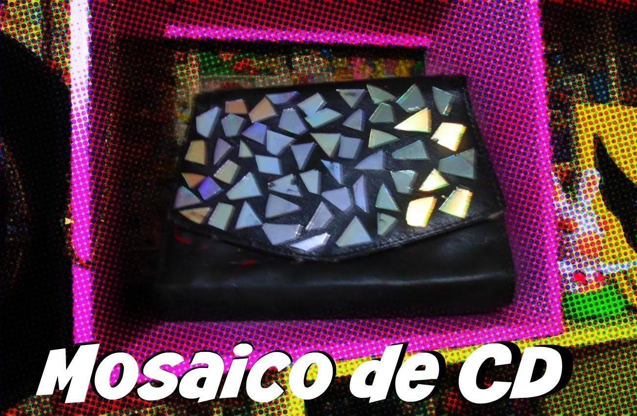DIY - Mosaico de CDs