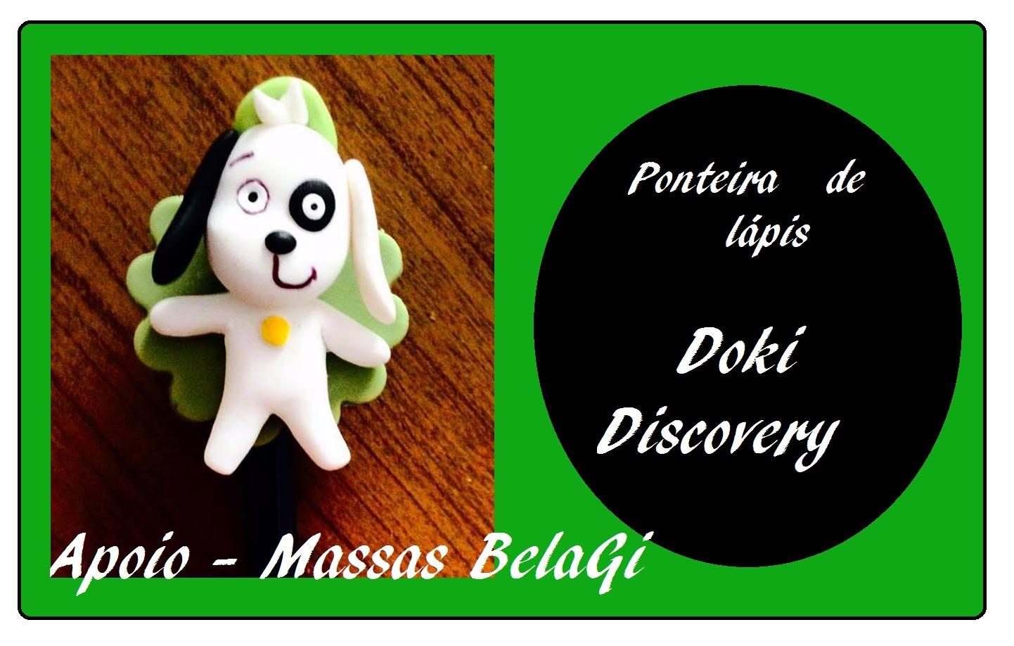 DIY- Ponteria de lápis DOKI - Biscuit - Raquel Fontinele