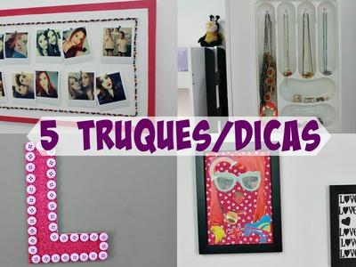 5 TRUQUES.DICAS PARA DECORAR O QUARTO - Sisters Lellis