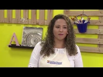 Ateliê na TV - Rede Brasil - 08.03.16 - Tainá Meschiatto e Fábio Abreu
