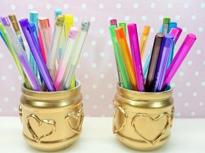 Como fazer porta canetas para o escritório com COPO