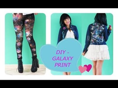 DIY Galaxy Print - Looks