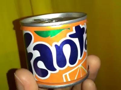Ganhe dinheiro com lata de Refrigerante  - Novo