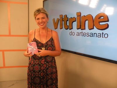 Kit de Manicure em Patchglue com Cláudia Ferreira | Vitrine do Artesanato na TV