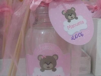 Lembrancinha da maternidade ( Difusor ) Faça você mesma !!!