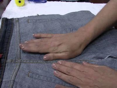 Mulher.com - 29.07.2015 – Efeito jeans no MDF – Vera Lúcia Francisco -  PT1