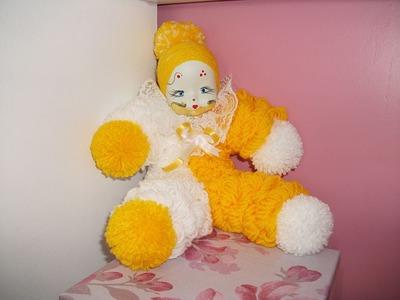 Palhaço de lã (Pierrô ou Pierrot)