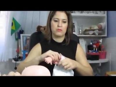 2º vídeo Como transformar sua boneca em Réplica de bebê