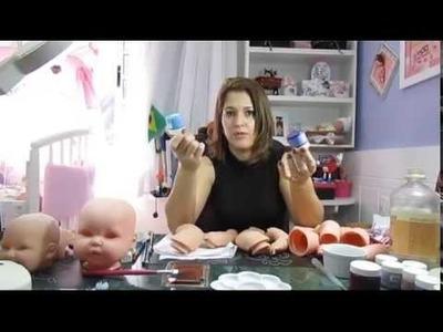 3º video Como Trasformar sua boneca em Réplica de bebê com Rejane dos Anjos