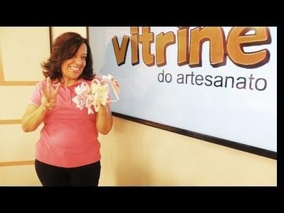 Acessórios com laço com Yvone Lobato | Vitrine do Artesanato na TV