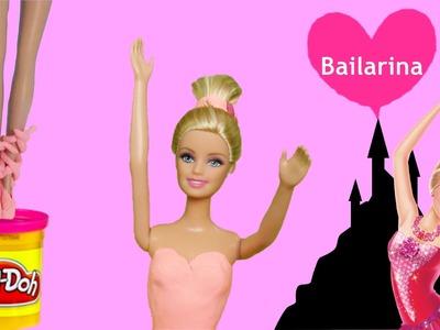 Barbie Bailarina Massinhas Play Doh Brincando Boneca Barbie em Português DisneySurpresa