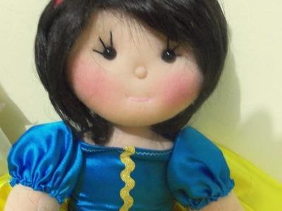 Cabelo de boneca (sintético)