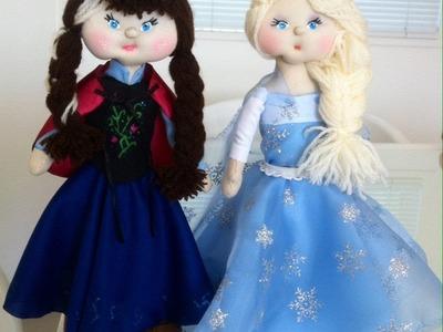 Como Fazer Boneca de Pano: Cabeça e cabelo de boneca - Bebe Mimado