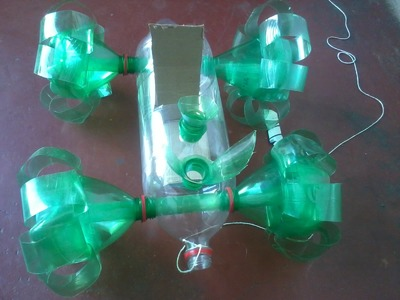 Como fazer carrinho com garrafa pet. reciclar garrafa pet