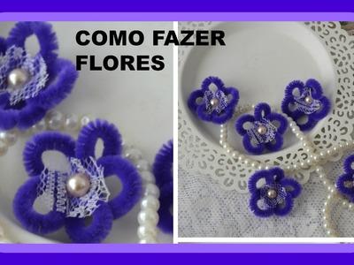 Como fazer lindas  flores ♥