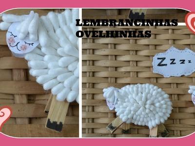 Como fazer ovelhinha para decorar o quartinho do bebe