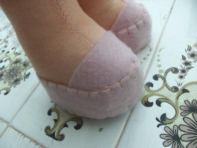 Como fazer sapatinho de boneca
