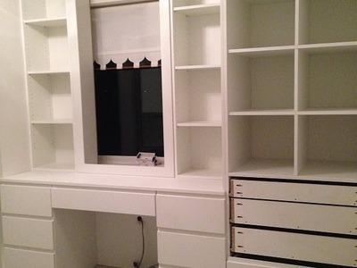 Construcao do meu closet Passo a Passo
