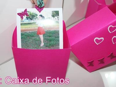 DIY: Caixa de Fotos - Presente para a mãe, pai, namorado, amigos, etc