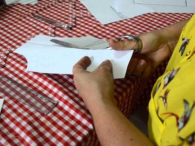 DIY : Como corrigir molde para quem tem muito seio - Aula 42