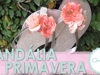 [DIY] Como Customizar Chinelo com Flores │Sem Costura - wFashionista