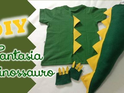 DIY: Fantasia de dinossauro | Fran Santos