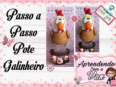 (DIY) PASSO A PASSO POTE GALINHEIRO MARATONA POTES #5