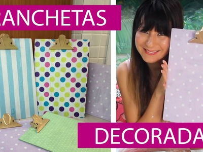 [DIY] Pranchetas Decoradas com Guardanapo - wFashionista