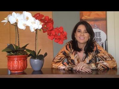Eu Que Decoro | Como montar Arranjo de Orquídea Solitária | Video Aula
