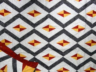Manta.colcha em patchwork Lancaster - Maria Adna Ateliê - Cursos e aulas de patchwork