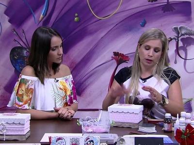 Mulher.com - 27.11.2015 - Caixa estilo shabby chic simples - Camila Claro de Carvalho  PT2