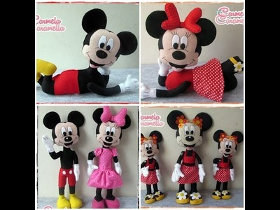Passo a Passo Mickey e Minnie