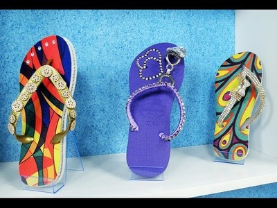 Programa Arte Brasil - 06.01.2015 - Andréia Bassan - Customização de Chinelos para o Verão