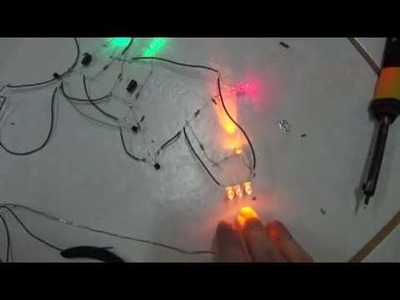 Como fazer um estrobo de LED ou sinalizador de garagem