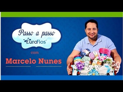 Crochetando com EuroRoma e Marcelo Nunes - Flor Escama