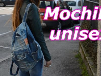 DIY Mochila unisex por janaina pauferro