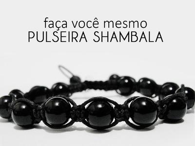 Faça você mesmo - Pulseira Shambala com macramê